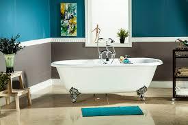 white cast iron bathtubs