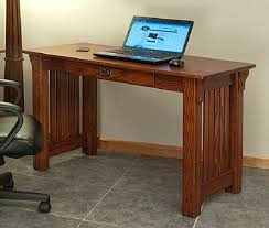office desk plan. Mission Style Solid Oak Office Computer Desk 55 The Within Plan 3