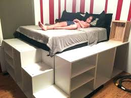 Ikea Storage Bed Storage Bed Twin Storage Bed Hack Ikea Over Bed