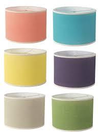 ... Innovative Ideas Colorful Lamp Shades Pretty DIY Colored Burlap  Lampshade ...
