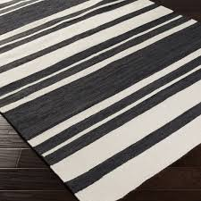 olympia flatweave striped rug 8 x 11 from