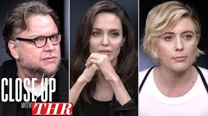 full director s roundtable angelina jolie guillermo del toro greta gerwig close up with thr