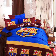 whole top european football bedding duvet cover bed sheet pillow cases 3 4pcs bed