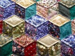 28 best Amish Patchwork Quilts images on Pinterest | Dahlias, Hand ... & Amish Quilt Tumbling Blocks Pattern Hand by QuiltsByAmishSpirit Adamdwight.com