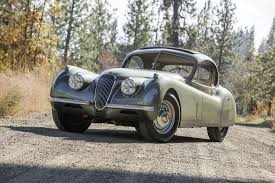 Lot-Art   1952 Jaguar XK120 Fixed Head Coupe
