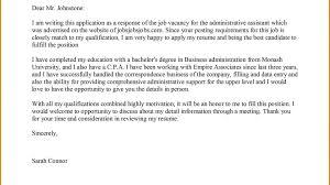 Unique Cover Letter Template Job Application Aguakatedigital