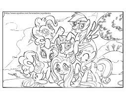 Small Picture My Little Pony Friendship Is Magic Coloring Pages