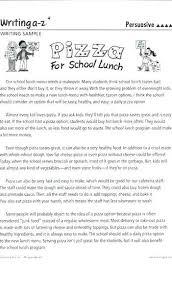 Short Essay Examples For Students Kids High School Persuasive Essays