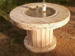 diy garden furniture from wood for cool garden furnishings