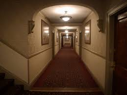hotel hallway lighting. simple lighting one of the cavernous hallways at stanley hotel  inspiration for  stephen kingu0027s the and hallway lighting l