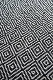 black and white carpet texture. Diamond Flatweave Black \u0026 White Stair Runner By Hartley And Tissier Carpet Texture M