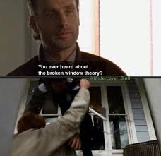the best broken windows theory ideas windows  broken window theory
