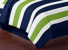 blue and green bedding. Interesting And Amazoncom Sweet Jojo Designs Navy Blue And Lime Green Stripe 3 Piece Bed  In A Bag King Size Bedding Set Collection Home U0026 Kitchen In And N