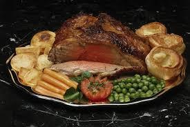 prime rib roast dinner. Simple Dinner Prime Ribs With Yorkshire Pudding Intended Rib Roast Dinner