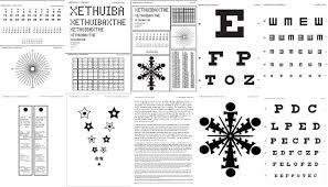 Presbyopia Eye Exercise Chart Www Bedowntowndaytona Com