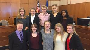 mock trial students try criminal vehicular homicide case in  the brainerd high school mock trial team friday won a competition against st cloud apollo at the crow wing county district courthouse in brainerd