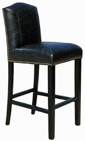 Leather Kitchen Bar Stools With Backs