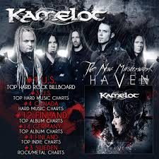 Finland Album Charts Kamelot Hit The Worldwide Charts Kamelot Official Website