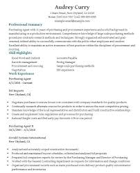 Purchasing Resumes procurement resumes foodcityme 73