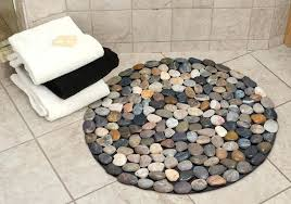 inspiring small round rugs for bathroom small round bathroom rugs inspirational diffe colored pebbles round bath