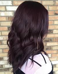 Dark Brown Hair Dyed Burgundy