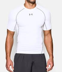 under armour shirts. white, zoomed image under armour shirts