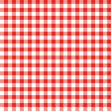 Download Red And White Checkered Fabric Stock Illustration - Illustration  of seamless, white: 14072144