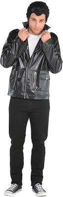 suit yourself t birds leather jacket grease costumes polyester plus size