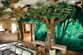 green ideas for the office. Imagination Dental Jungle Themed Office Green Ideas For The C