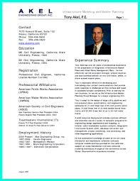 Effective Resume Samples Infoe Link