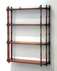 hanging shelves antique wall shelf