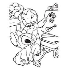 Small Picture 10 Cute Lilo And Stitch Coloring Pages For Toddlers