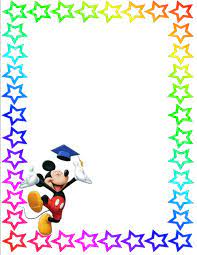 Mickey Mouse Page Border (Page 2) - Line.17QQ.com