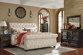 ashley traditional bedroom furniture. ashley furniture b643 willenburg - traditional queen king fabric bed bedroom set l