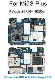 1pcs Used Original For Xiaomi Mi 5S M5S Mi5S Plus 6G RAM 128GB ROM  Motherboard MainBoard Logic Board Replacement|Dust Plug| - AliExpress