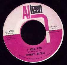 Johnny McCall – I Need You (1969, Vinyl) - Discogs