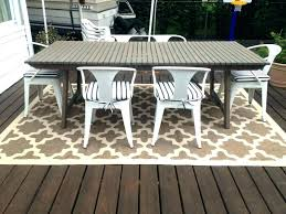 outdoor dining set and rugs with wood decks ikea rug ireland fascinating patio design using outdoor rug