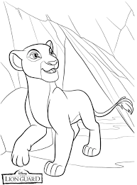 Lion King Lioness Coloring Page L