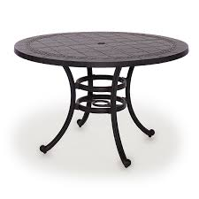 simple 48 inch round coffee table for telescope casual 48 inch round glass top patio dining