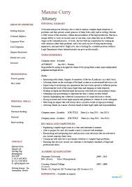 Attorney Resume Example Lawyer Solicitor Legal Cv Tips
