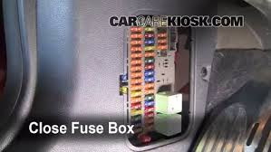 interior fuse box location 2002 2008 mini cooper 2004 mini mini r53 fuse box location at 2013 Mini Cooper Fuse Box