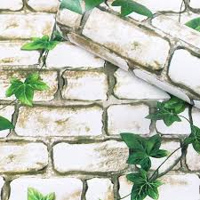 Woltop 3D Brick Wallpaper Peel and ...