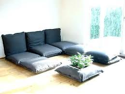comfy floor seating oversized floor pillows club home goods clark nj