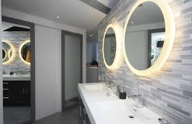 espejos redondos luces baño