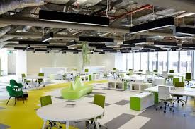office workspaces. office which accommodates open workspace 2 workspaces a