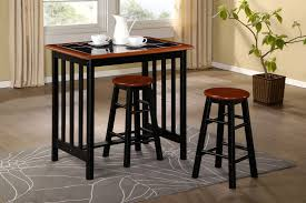 kitchen breakfast bar table and stools