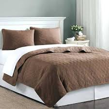 best bamboo sheets twin of chocolate brown velvet touch coverlet quilt bedding set sheet c turquoise and brown bedding