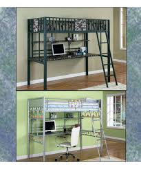 log loft bed with desk log loft bed with desk rustic bunk bed with desk