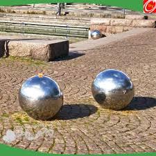 Stainless Steel Decorative Balls 100cm Stainless Steel Sphere Decorative Garden Ornament Mirror 97