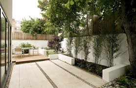 Exterior Modern Backyard Lanscaping Design With Pergola And Stone Made  Fireplace Including Footstep To Ponds Inspiring